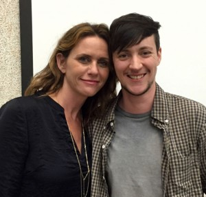 'Transparent' actor Amy Landecker with Associate Producer and CalArts alum Rhys Ernst at a visit to CalArts last semester. | Image: Christine N. Ziemba/CalArts