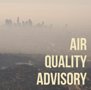 LA County Department of Public Health air quality advisory