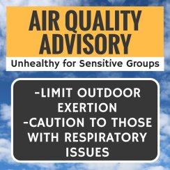 AQMD air quality alert