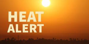 County Health heat alert