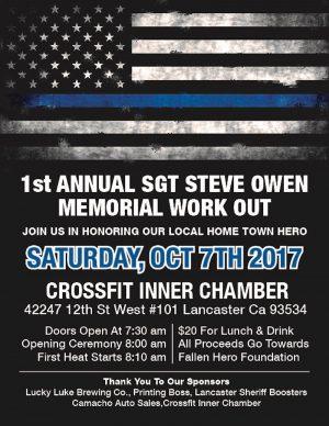 Sgt Steve Owen