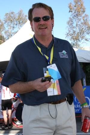 Rick Gould at Amgen Tour of California, Santa Clarita, Feb. 24, 2007.   Photo: Stephen K. Peeples