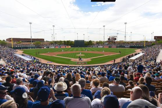 Dodgers spring training at Camelback Ranch Glendale