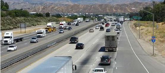 Caltrans I-5 repaving project in Santa Clarita Valley