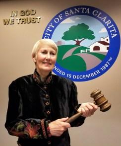 Santa Clarita Mayor Laurene Weste, Dec. 12, 2017. | Photo: Stephen K. Peeples