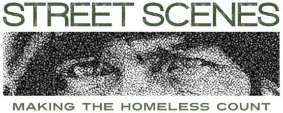 Street Scenes - Making the Homeless Count logo