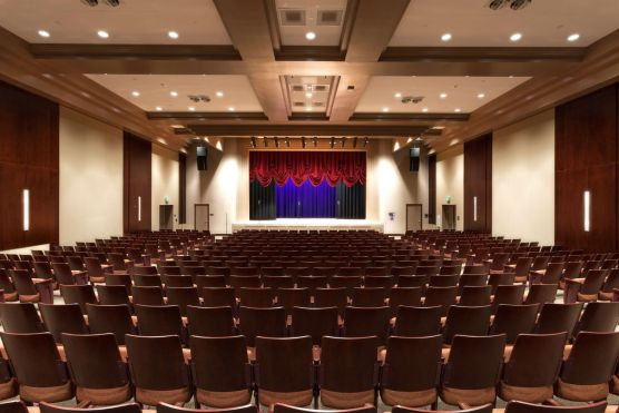 Newhall Family Theatre interior