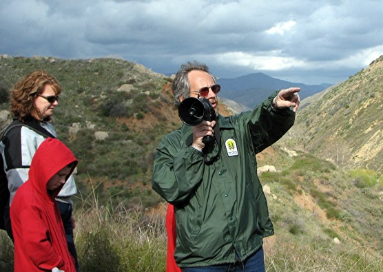 Frank Rock at St. Francis Dam site.