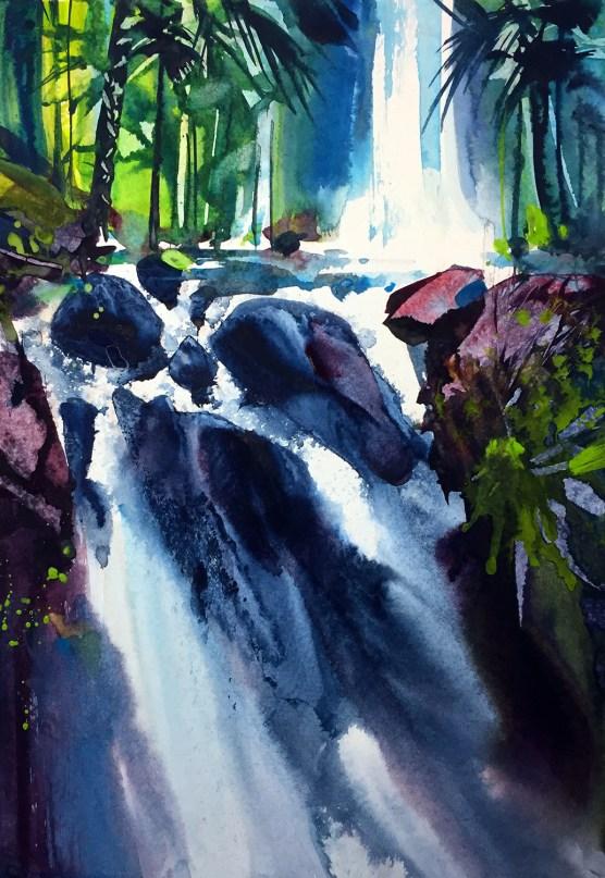 Cibere Waterfall