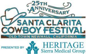 25th Santa Clarita Cowboy Festival logo