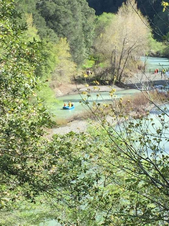 Eel River in Northern California, where authorities are searching for a missing vehicle thought to belong to the Thottapilly family of Valencia, California, missing since April 5. | Photo: CHP-Garberville.