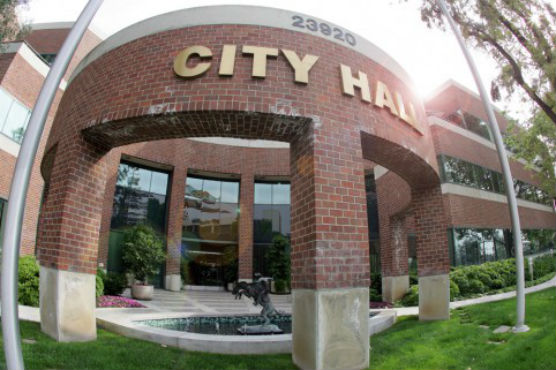 Santa Clarita City Hall - blood drive