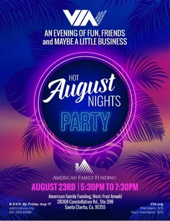 Hot August Nights Party