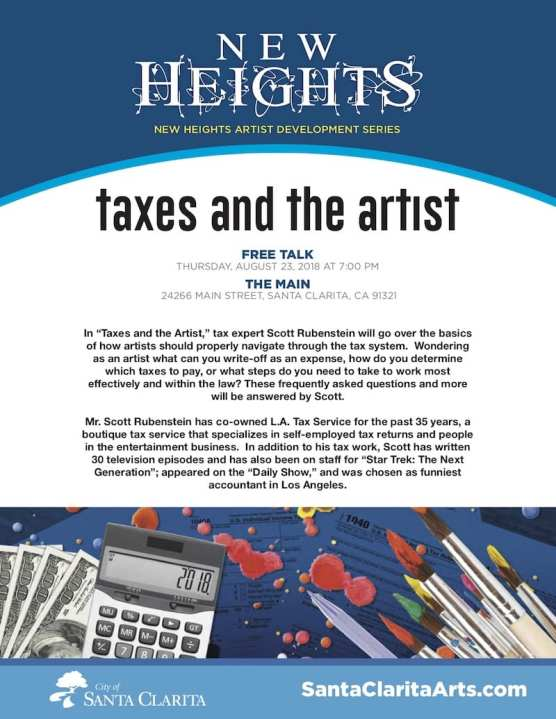 Taxes and the Artist