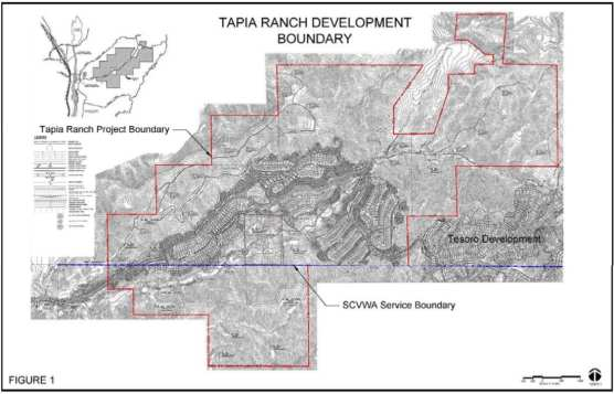 Tapia Ranch water supply, SCV Water Agency, July 17, 2018.