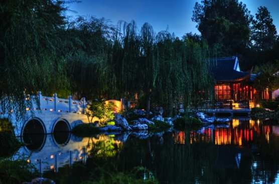 """The Garden of Flowing Fragrance at The Huntington is the inspiration for playwright Stan Lai's new site-specific work, """"Nightwalk in the Chinese Garden,"""" which has its world premiere Sept. 21–Oct. 26, 2018. 
