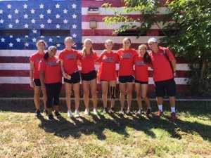CSUN Women's Tennis Team