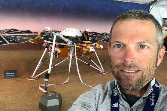 Scott Evans of NASA JPL's Navigation Team that guided the InSight spacecraft to Mars for its touchdown on Nov. 26, 2018.