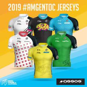 Amgen Tour of California 2019 Jerseys