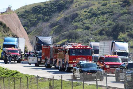 Woman Killed in Collision on I-5 Truck Route - SCVNews com