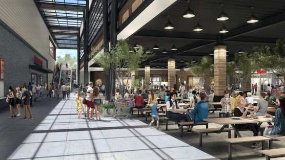 Town Center Rendering