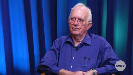 Carl Boyer talks about Santa Clarita's 30th birthday on SCVTV in 2017.