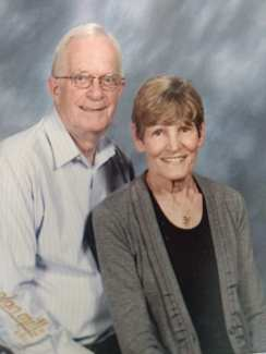Carl Boyer and his wife Chris, who predeceased her husband in January 2018.