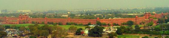 The Red Fort was the palace for Mughal Emperor Shah Jahan's new capital, Shahjahanabad, the seventh Muslim city in the Delhi site. | Photo: Soham Banerjee/Wikimedia CC 2.0.