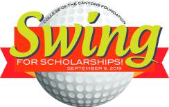 swing for scholarships golf fundraiser