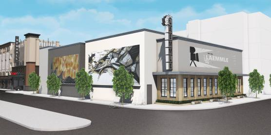 laemmle theaters newhall rendering