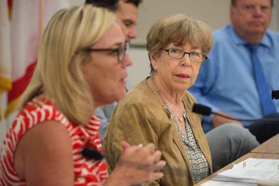 Los Angeles County 5th District Supervisor Kathryn Barger and Santa Clarita Mayor Marsha McLean