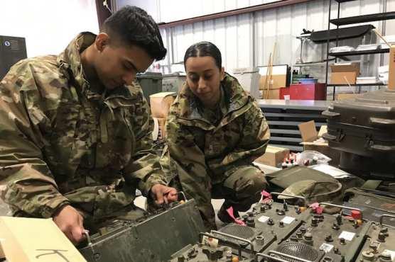 Army Checks Radio Equipment