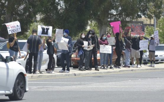 BLM Protest Santa Clarita