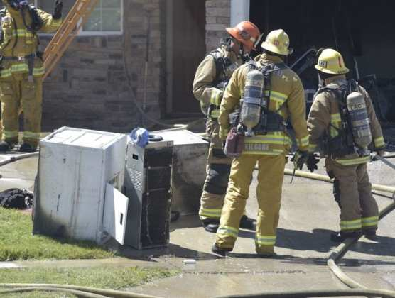 Canyon Country Garage Fire