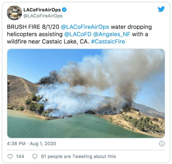 Castaic Fire