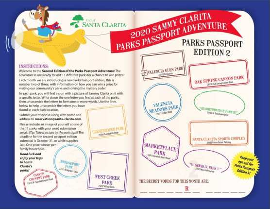parks passport adventure no 2