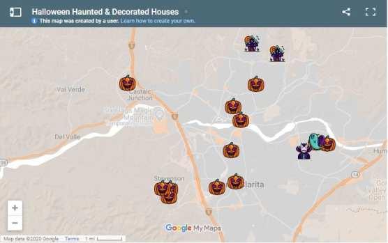 halloween haunts scv 2020