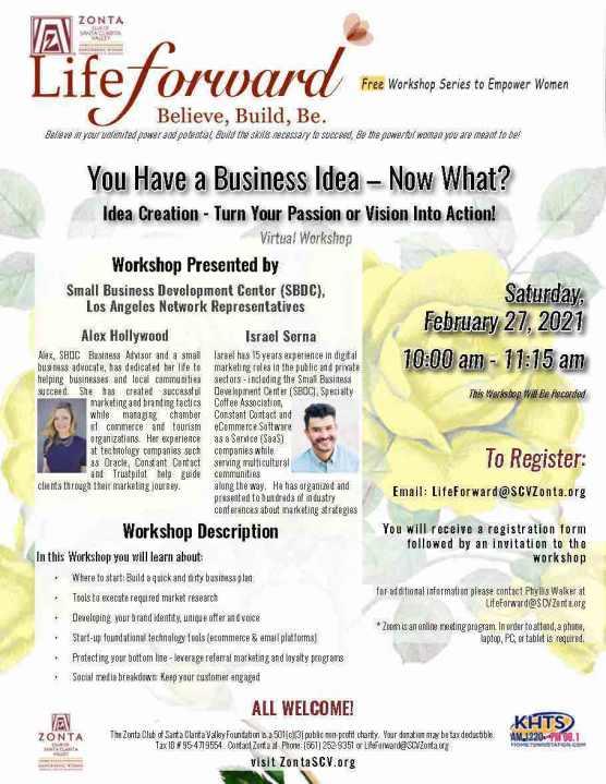 LifeForward Workshop