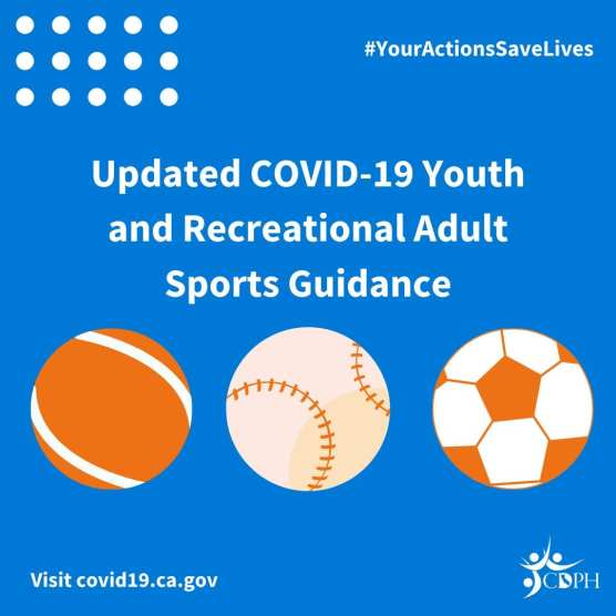 CA Youth and Recreational Adult:Sports Guidance