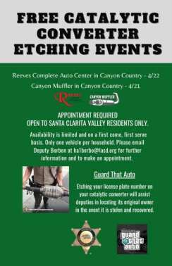 etching event