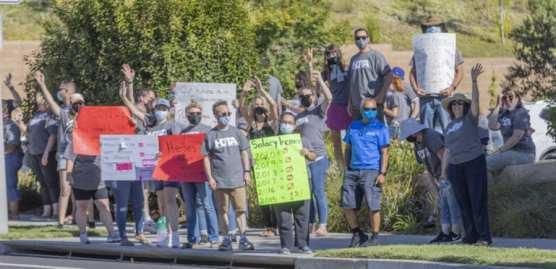 Hart Teachers Protest 1