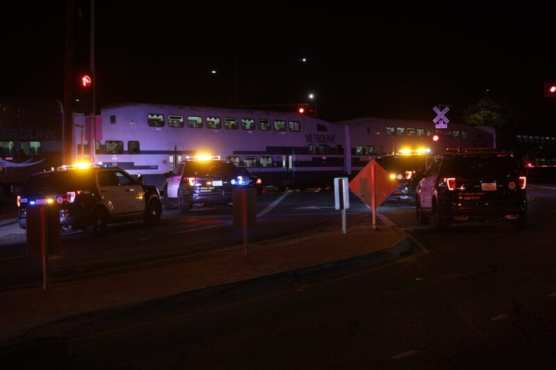 SCV Sheriff's Deputies Responding to Car on Tracks