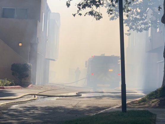 Fire Apartment Complex