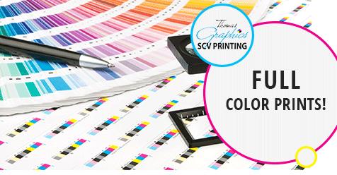Professional Printing at Great Prices! – Thomas Graphics, SCV Printing