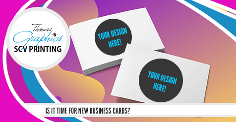 15% OFF Business Cards | SCV Printing – Thomas Graphics