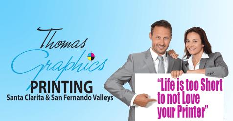 San Fernando and Santa Clarita Valleys Printing Resource