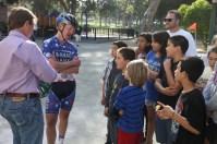 Cyclist Timmy Doogan Visits Boys and Girls Club28
