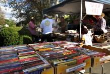 Roger Basham, Hart Park Book Store volunteer