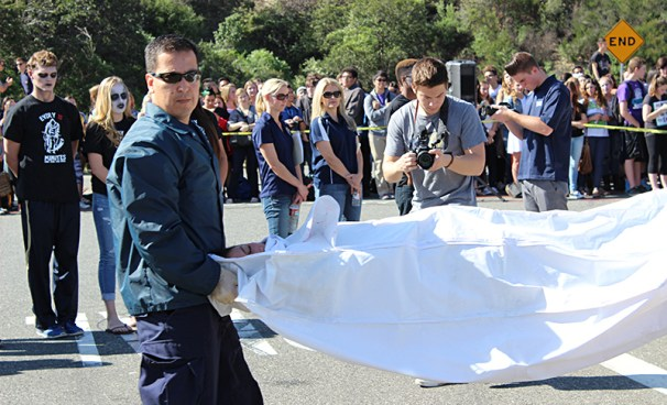"""Photos: West Ranch Students Participate in """"Every 15 Minutes""""-5"""