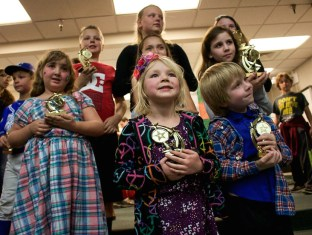 Meadow Elementary Kids Win Trophies for their Science Fair Projects